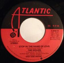Hollies 45 Stop In The Name Of Love / Musical Pictures