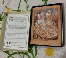 Antioch Fairy Unicorn Elves Gummed Bookplates - Opened/Unused 48 Labels