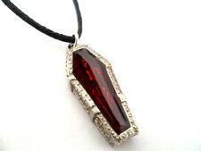 Blood Bath! Gothic Pewter Pendant