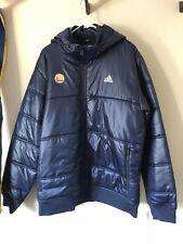 Rare Adidas Golden State Warriors Jacket Men's Large New Puff NBA