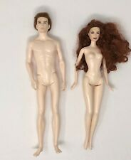 Twilight Dolls Edward Cullen & Victoria Nude Mattel
