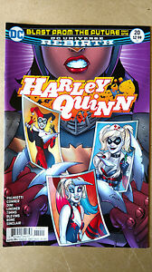 HARLEY QUINN #20 REBIRTH 1ST PRINT DC COMICS (2017) BLAST FROM THE FUTURE