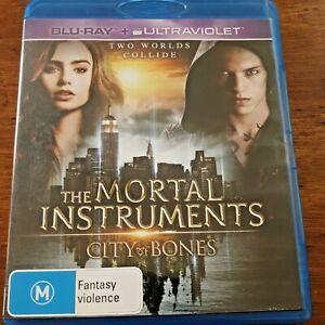 Mortal Instruments City of Bones Blu-ray + Digital Copy Like New! – FREE POST