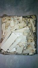 Lego white block brick stud flat pieces 3lbs 1x2, 2x2, 2x8, 4x6, 6x8, 4x12 more