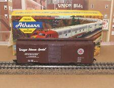 Vintage Tin Body Athearn HO SAL 40' Boxcar Built w diecast sprung trucks