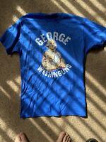 george washington t-shirt George Washinguns Funny Workout Shirt