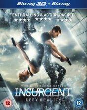 Insurgent 2d and 3d Blu-ray Region B