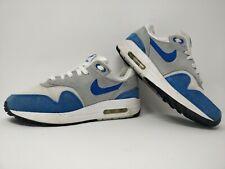 Nike Air Max 1 GS esencial | Blanco Gris Azul | Reino Unido 4.5 | EU37.5