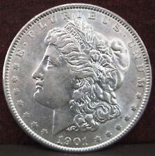 1901-P Morgan Silver Dollar $1 - Excellent Condition - Nice Luster! All Original