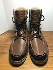 Men's Sperry Top Sider Dockyard Brown Leather Anckle Boots Size 11M