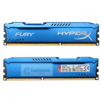 Para Kingston HyperX 8GB 16GB 32GB PC3-14900 DDR3-1866MHz RAM de escritorio azul