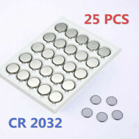 Lots 25pcs CR2032 CR 2032 3 Volt Button Cell Battery for Watch Toys Remote Set