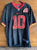 Washington Redskins 80th Anniversary Robert Griffin III Nike SZ L Jersey Black