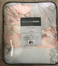 Madison Park Serendipity Cotton Percale 9 Piece Duvet Cover Set Queen