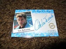 CSI Miami Autograph Trading Card Very Limited Cristian de la Fuente as Sam MIA11