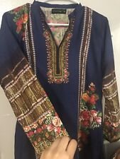 pakistani Indian designer salwar kameez Dress 2pc Casual Wear Suit Printed