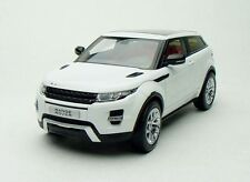 Welly GT AUTOS LAND RANGE ROVER EVOQUE SUV WHITE / BLACK 1:18*New Stock!