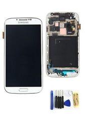 DISPLAY LCD +TOUCH SCREEN + FRAME per SAMSUNG GALAXY S4 i9505 SCHERMO BIANCO