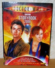 Doctor Who Storybook 2009 BBC Tenth Doctor & Donna Noble Anthology G+ Condition