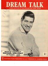 Sheet Music & Lyrics - Michael Holliday - Dream Talk