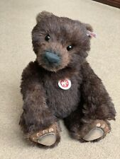 Steiff ROCKY Grizzly Baerenjunges 38cm Bear Cub - Rare & Hard to Find! Boxed!