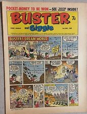 BUSTER and GIGGLE weekly British comic book May 3, 1969
