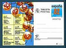 """SPAIN - SPAGNA - 1982 - Cart. Post. - Campionato di calcio """"Spagna '82"""". E3391"""