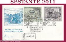 VATICANO FDC CAPITOLIUM V 92 1975 ANNO EUROPEO PATRIMONIO ARCHITETTONICO (453)