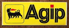 VINYL SELF ADHESIVE AGIP SIGN. 18x6.5cm