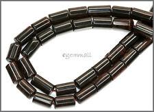 """15.5"""" Golden Mahogany Obsidian Tube Beads ap.8x14mm #89022"""