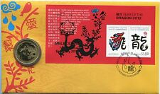 2012 Christmas Island Year of The Dragon FDC/PNC - APTA Melbourne Show 067/150
