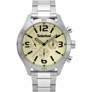 Timberland Stranton Men's Silver Stainless Steel Watch 15358JS/53M