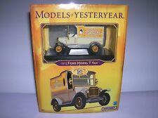 "Matchbox "" Ford Model T Van 1912"" new boxed O gauge boxed lot # 8781"