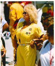 1994 HOT LINDA VAUGHN  8 X 10 INDY 500 NASCAR NHRA LEGS HURST SHIFTER PHOTO 1