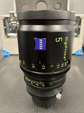 """ZEISS DIGIPRIME 5mm T1.6 LENS (B4 MOUNT) FOR CINE 2/3"""" CAMERAS"""
