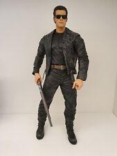 """Terminator 2 12"""" Action Figure NECA Pescadero Escape T-800"""