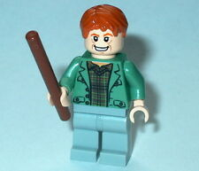HARRY POTTER #19 Lego Arthur Weasley w/wand NEW 4840 Burrow HTF Genuine Lego