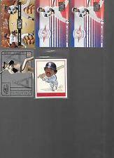 Lot of 5, All Reggie Jackson High End Inserts #ed Membership SP Rivals/100