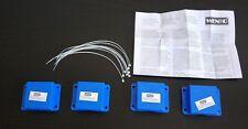 4 x Wenko 3924020500 Anti-Limescale Magnetic Blue
