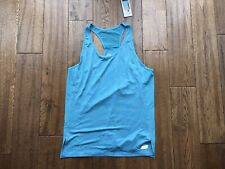 Ladies Sketcher Sport Loose Fit Racer Back Vest Top In Blue Size Medium BNWT