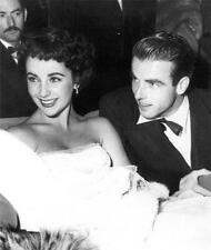 Old Photo.  Elizabeth Taylor & Montgomery Clift - Hollywood