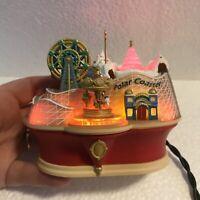 2003 Polar Coaster Hallmark Keepsake Ornament MAGIC light, motion, sound No Box