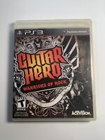 Guitar Hero Warriors of Rock PS3 - Complete CIB - Tested