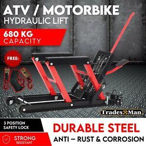 Motorcycle Motorbike ATV Hydraulic Bike Lift 680kg SUPER LOW PROFILE - 110mm FS