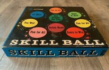 Vintage Metal Molded Skill Ball Game board by Pressman Toy -COMPLETE with box!!!