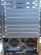 Cisco WS-C6509 Chassis w/ 2 WS-X6K-SUP1A-2GE