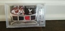 2009 Exquisite Rare Material Game Used Andre Johnson Beckett Upper Deck Football