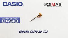 CASIO CORONA/ WATCH CROWN, PER MODELLI. AD-703 GOLD TONE