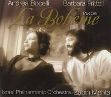 Puccini - La Boheme (CD ALBUM) Israel Philharmonic Orchestra - Bocelli Frittoli
