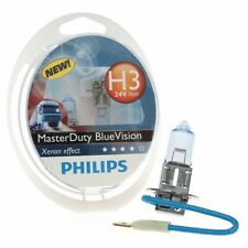 Philips Autolampe H3 24V MasterDuty Master Duty Blue Vision 2st